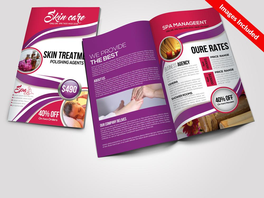 5 Business Bi-fold Brochures Bundle example image 5