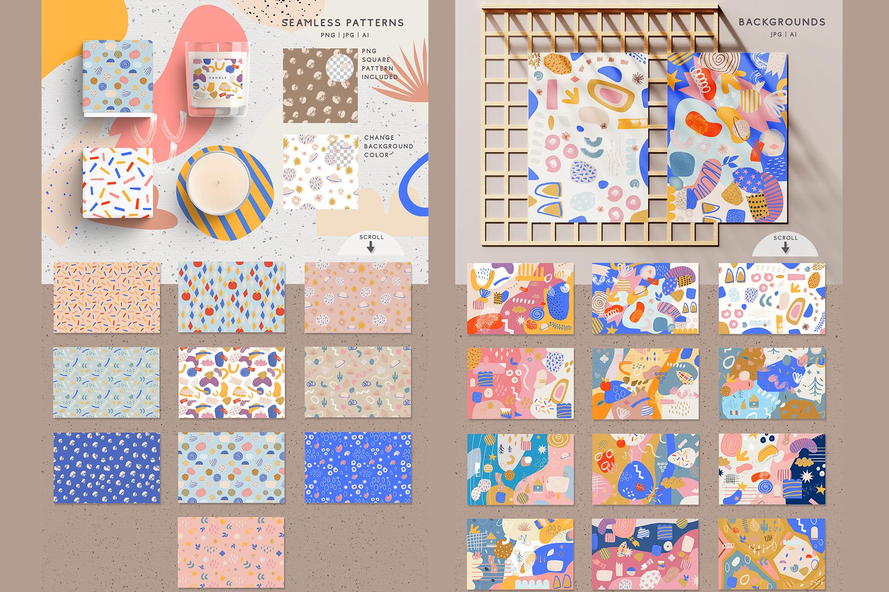 Doughnut Cutouts Set example image 3