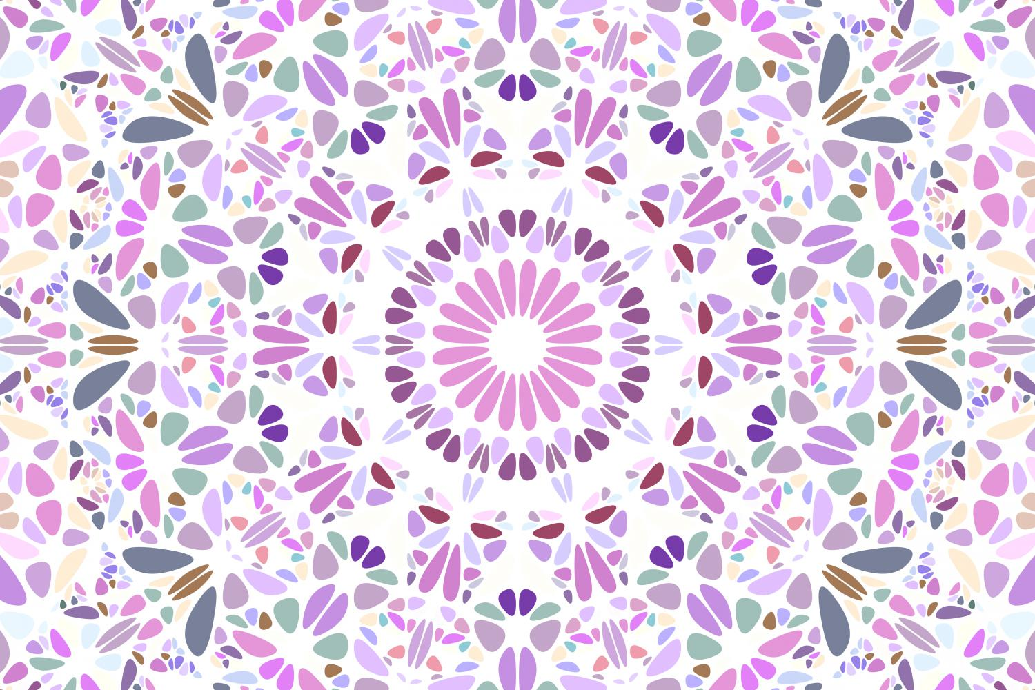 48 Floral Mandala Backgrounds example image 22