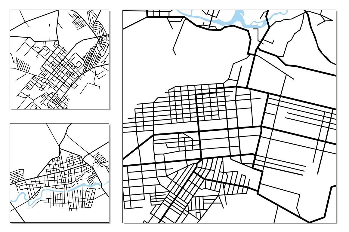 Street maps illustrations example image 3