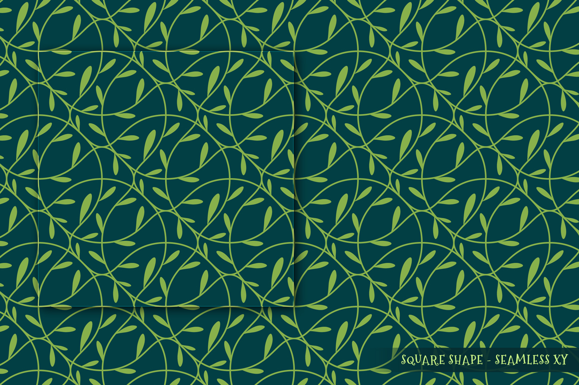 100 Christmas Seamless Patterns example image 2