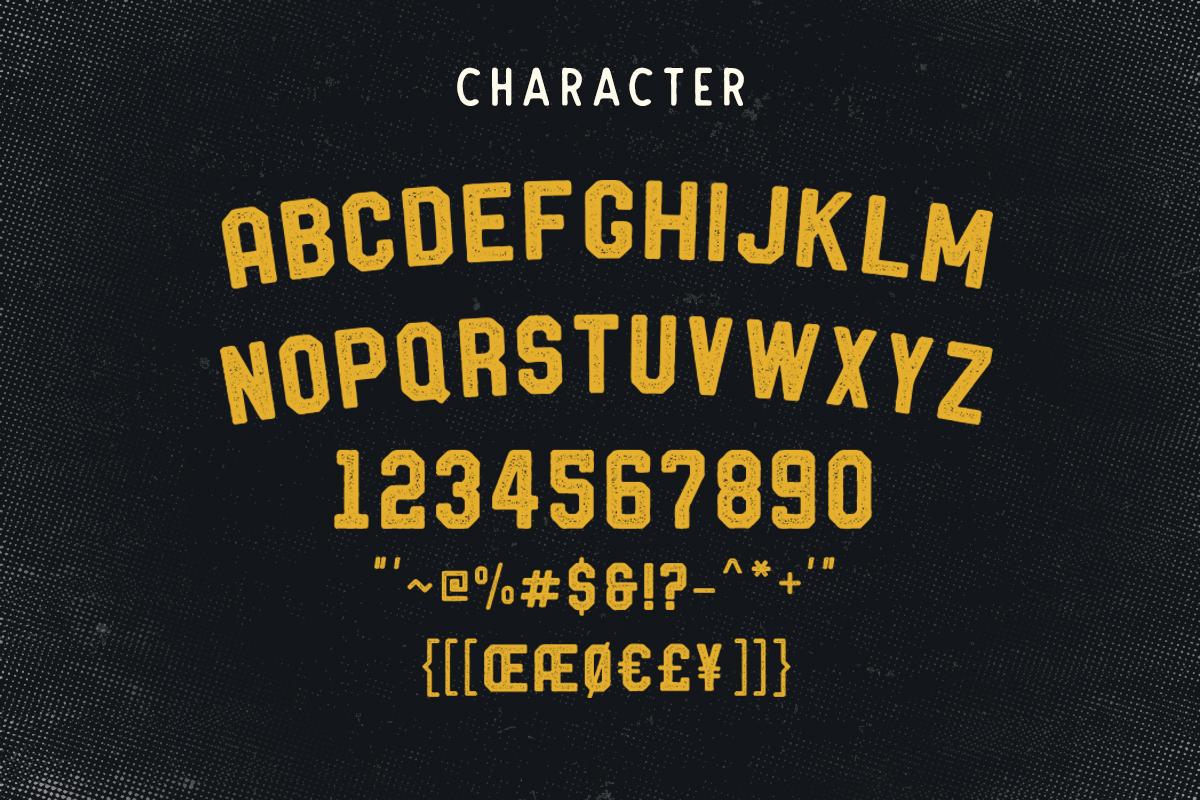 Barthon Typeface Combo (7Fonts)! example image 5