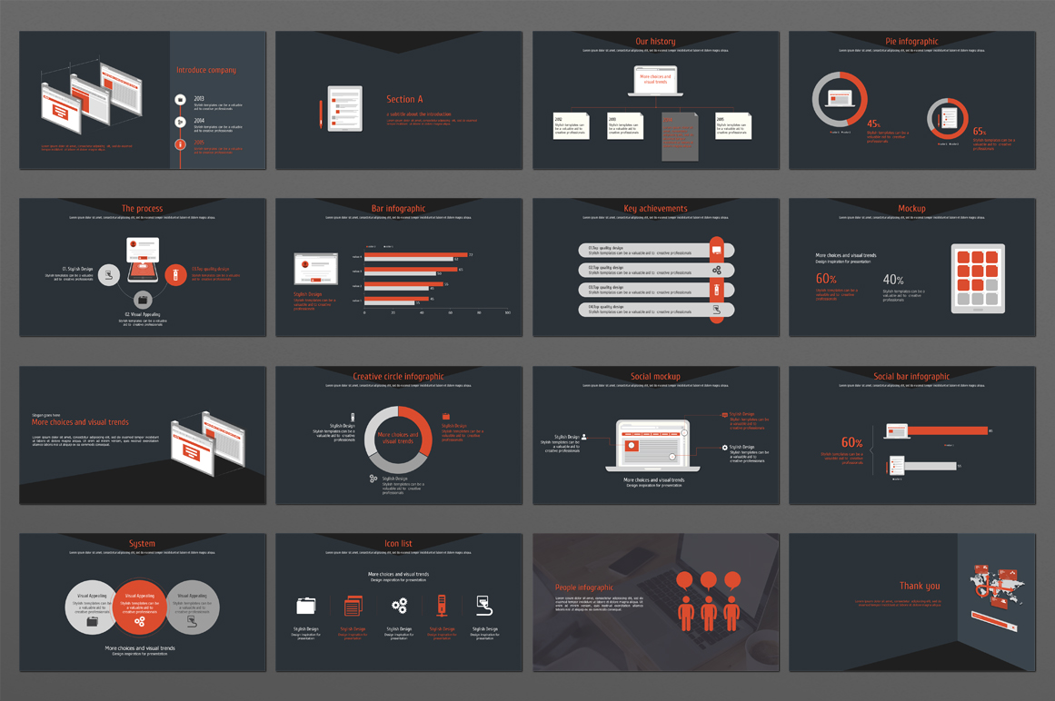 Web Design PowerPoint Template example image 3