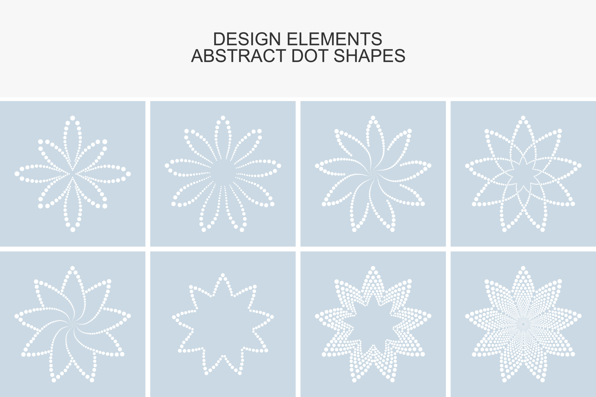 Dotted design elements. example image 1