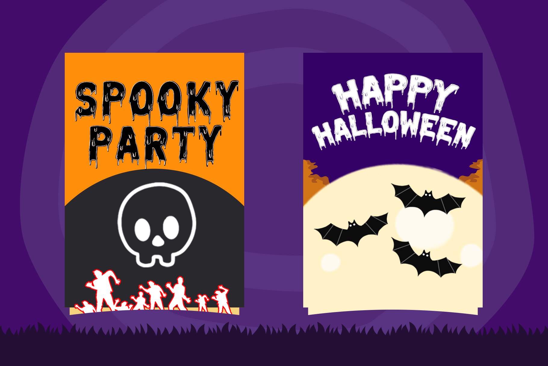 Melted Monster - Halloween Pack Layered Font example image 4