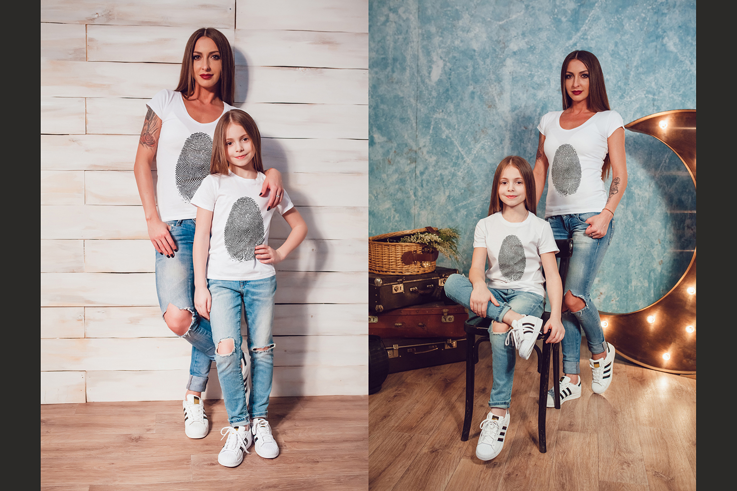 Family T-Shirt Mock-Up Vol.1 2017 example image 2