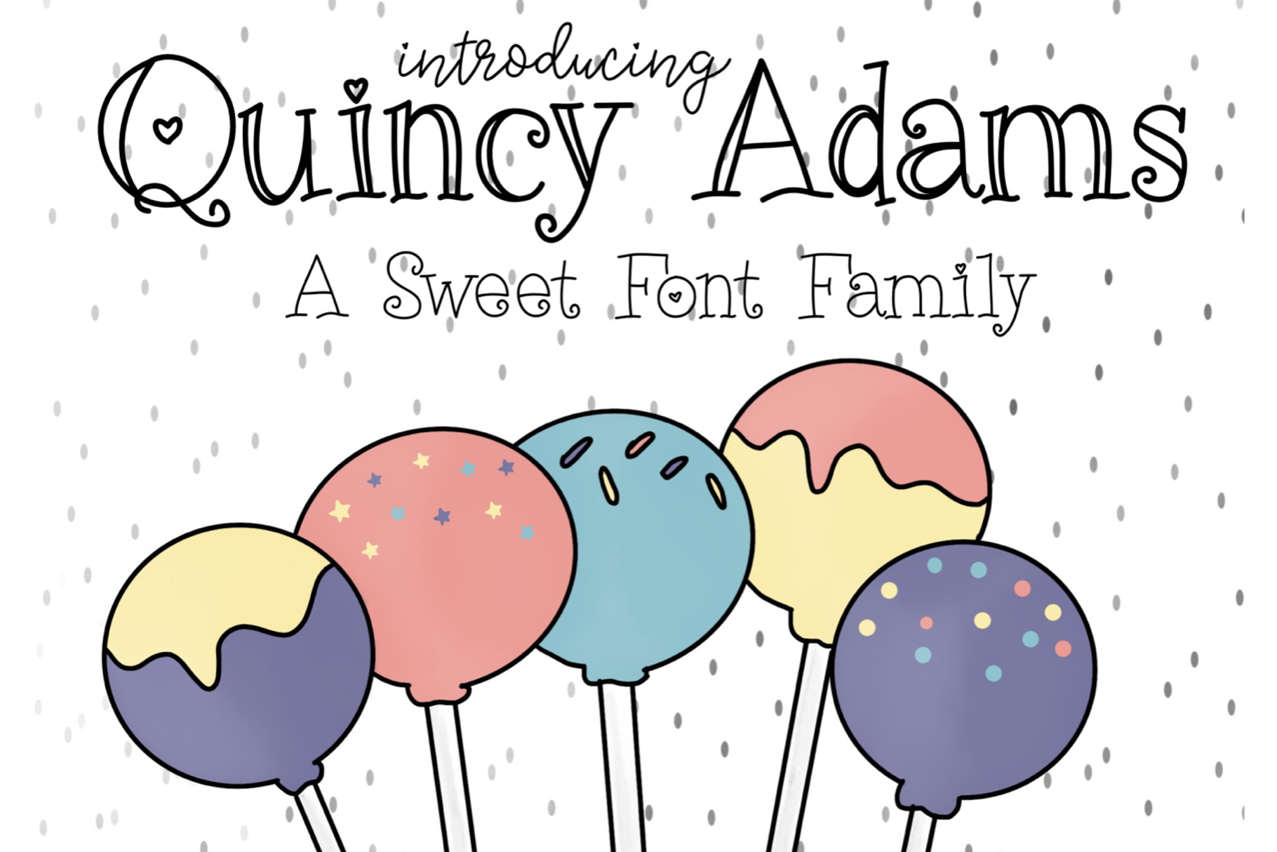 Quincy Adams - A Sweet Hand Written Font example image 1