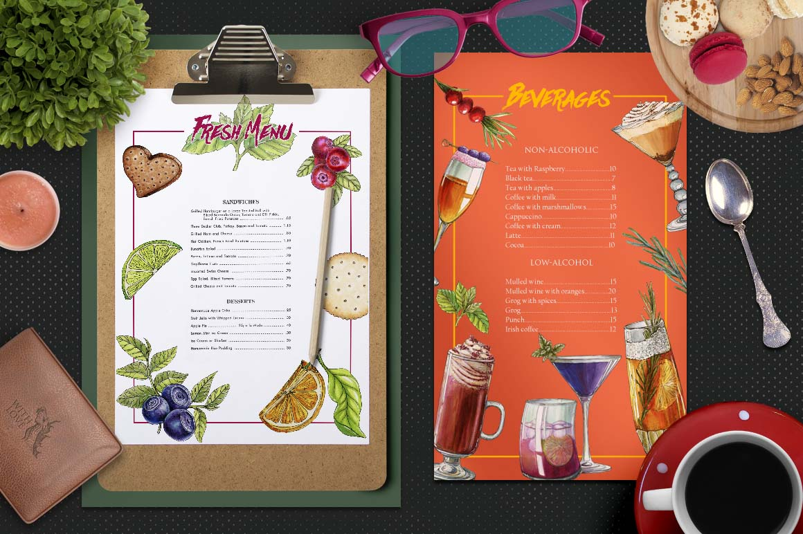 Cocktail Party Marker Bundle example image 7