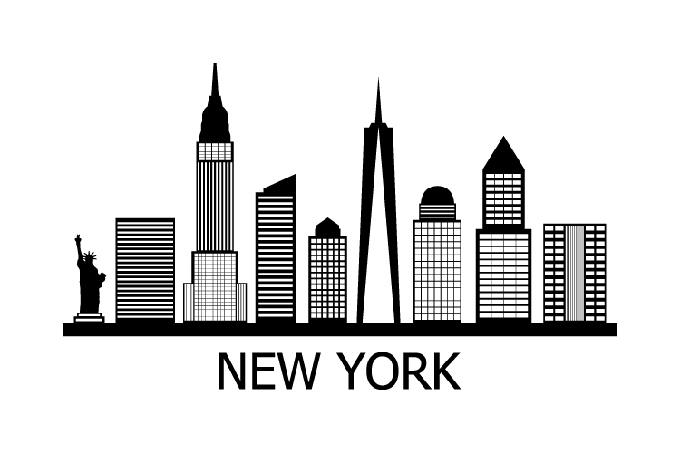 New York Skyline example image 1