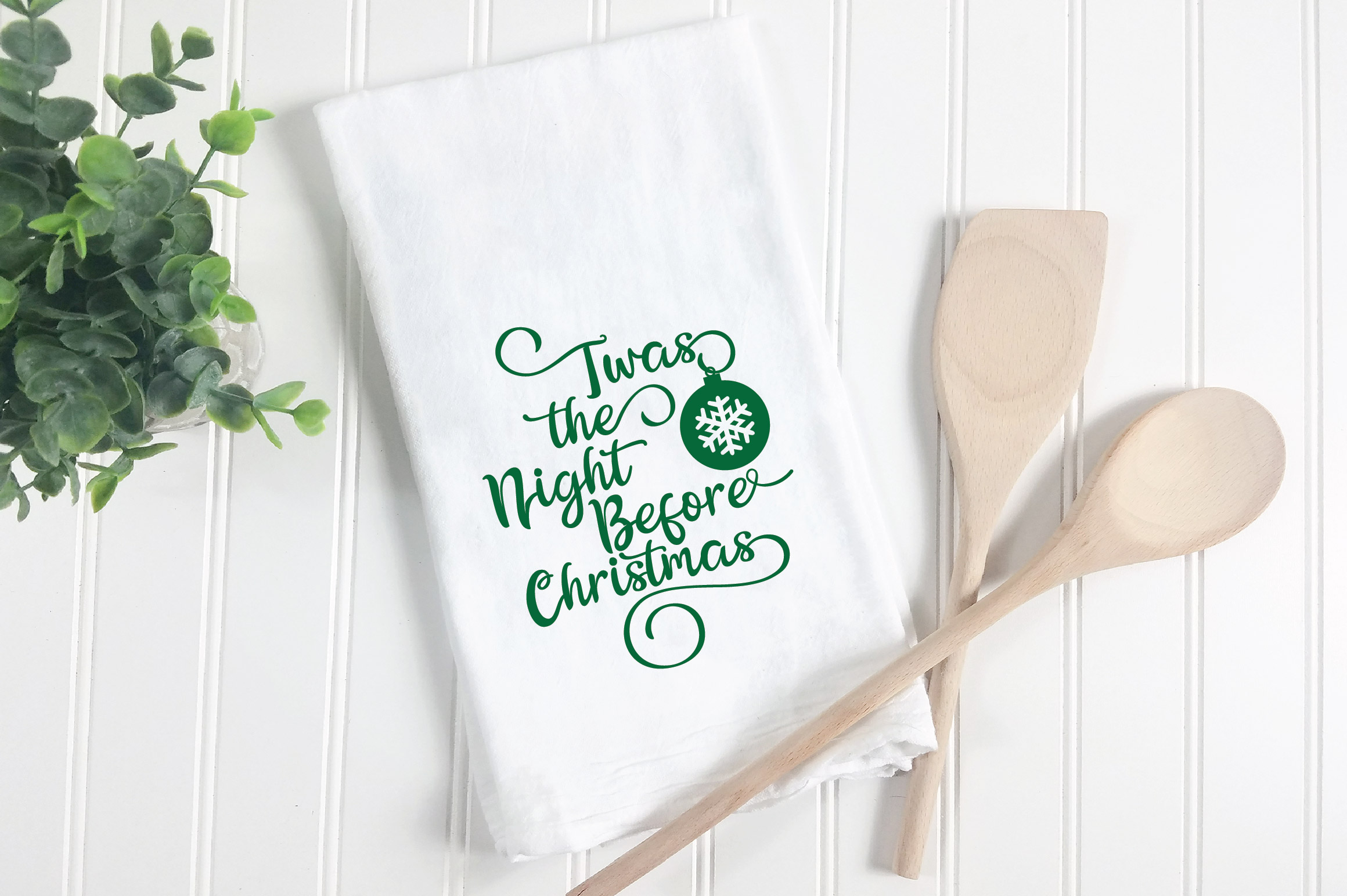 Farmhouse Christmas SVG Bundle with 20 SVG Cut Files DXF EPS example image 5