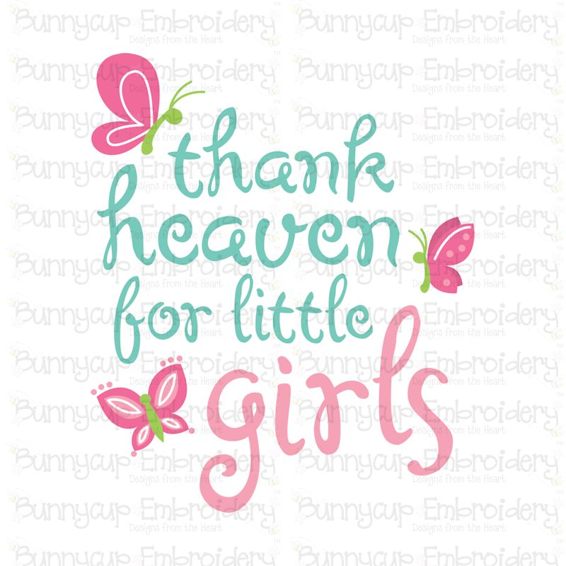Baby Girl Sentiments- SVG, Cut Files, Clipart, Printables example image 8