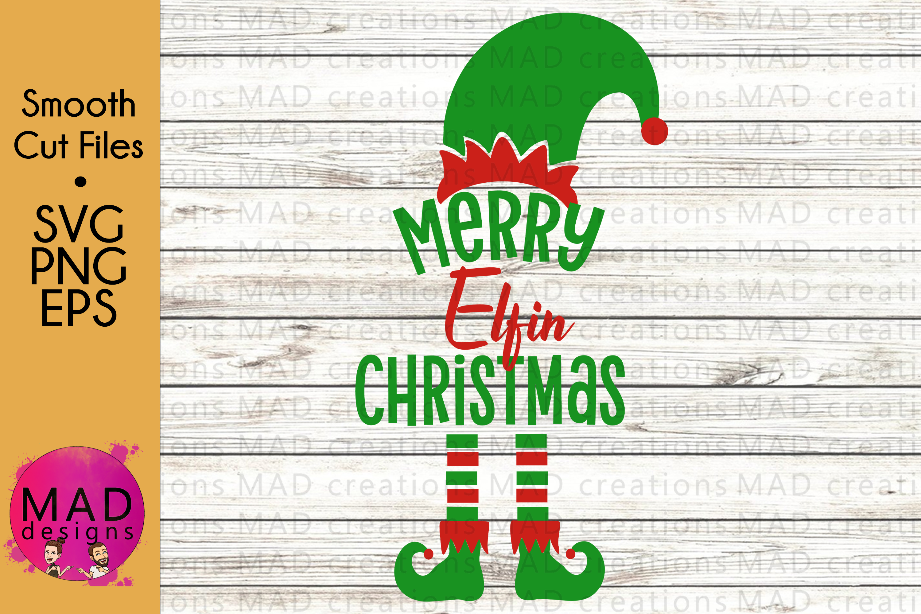 Christmas Elf - Bundle - Hat and Shoes Socks - SVG EPS PNG example image 5