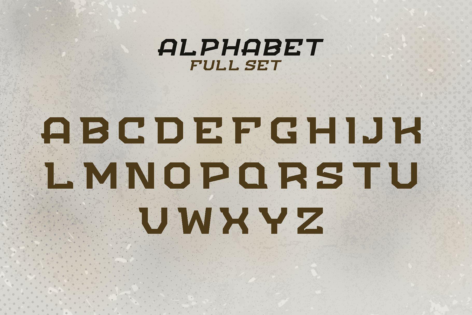 FLIPPER - NFC Font Family example image 3