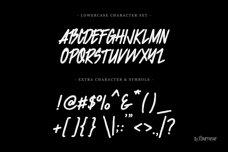 Jacklyen Font example image 5
