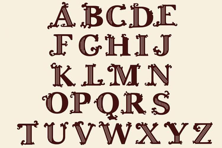 Tatianna   Vintage Font Family example image 3