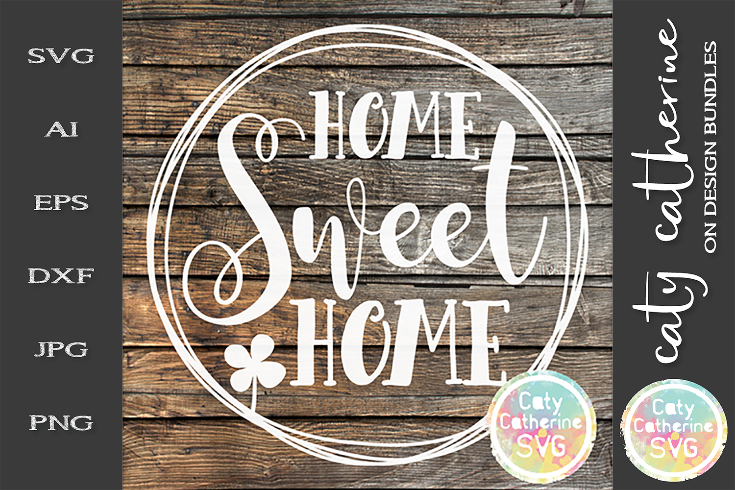 Home Sweet Home SVG Cut File example image 1