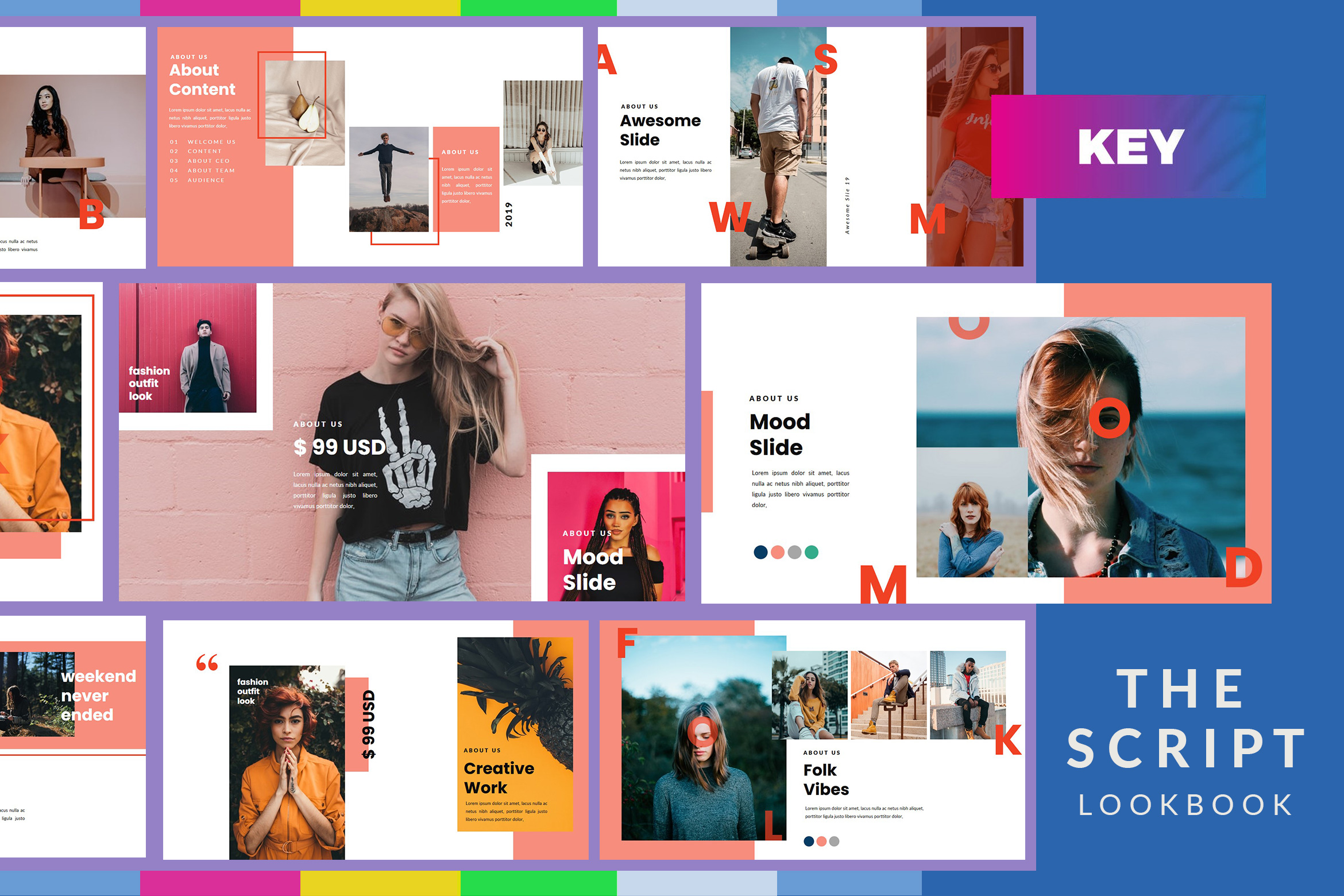 The Script Lookbook - Keynote Template example image 1