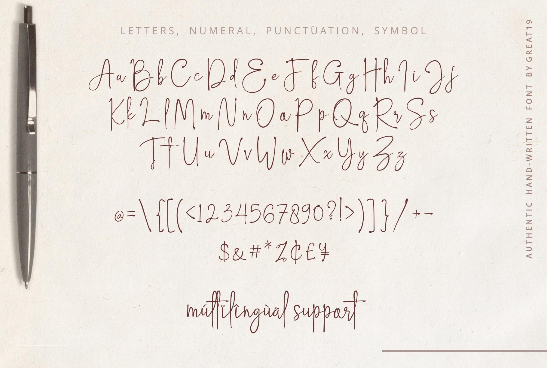 Hampton Signature Font example image 9