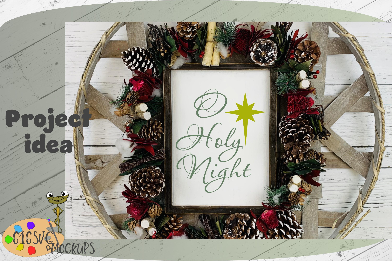 O Holy Night SVG example image 4