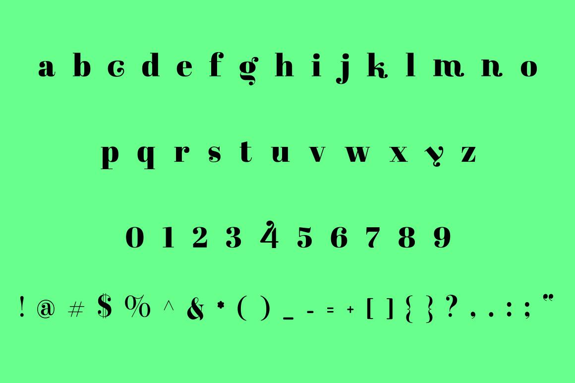 GIUSEL FASHIONABLE FONT AND 10 LOGO example image 2