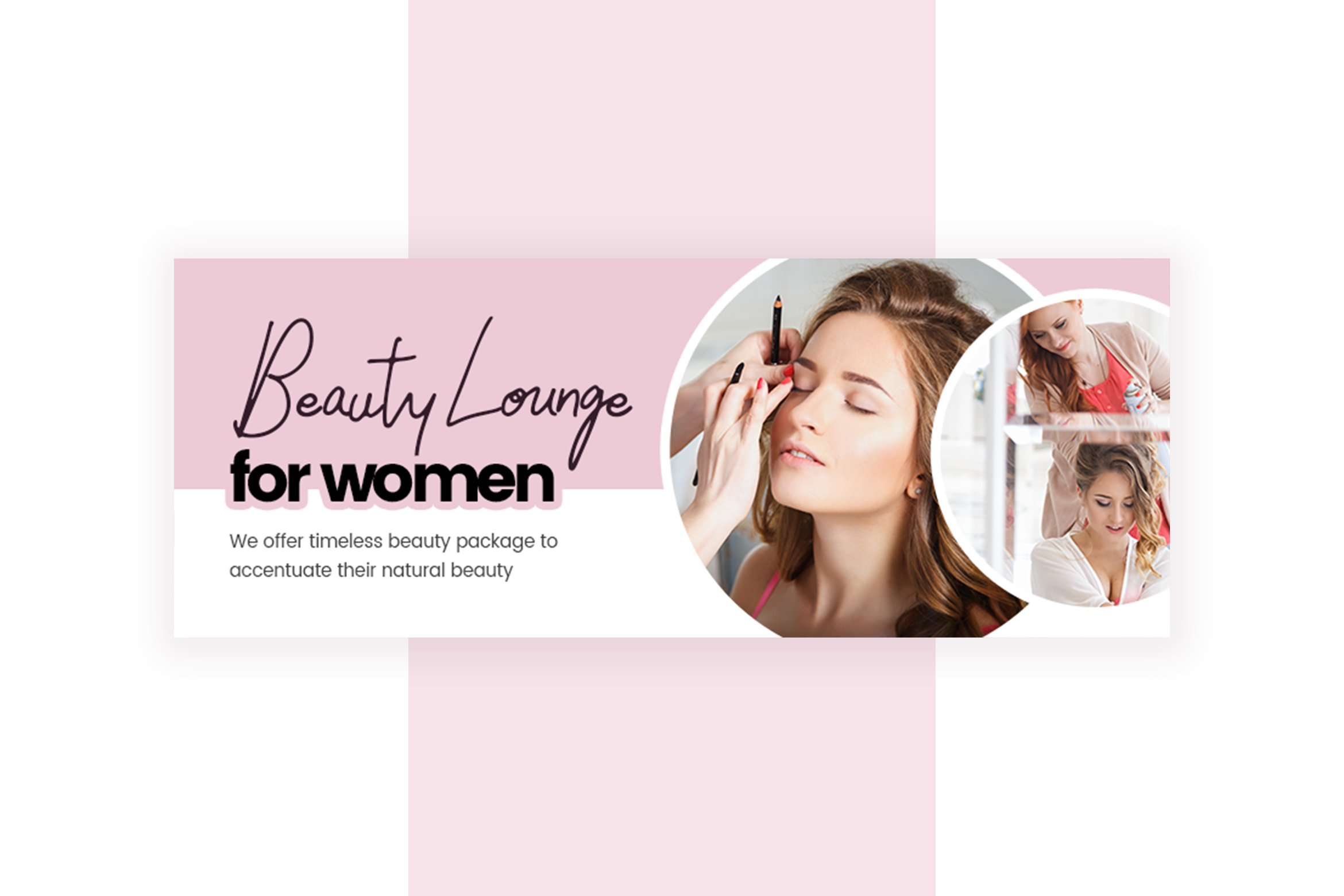 Beauty Service Facebook Cover Template example image 6