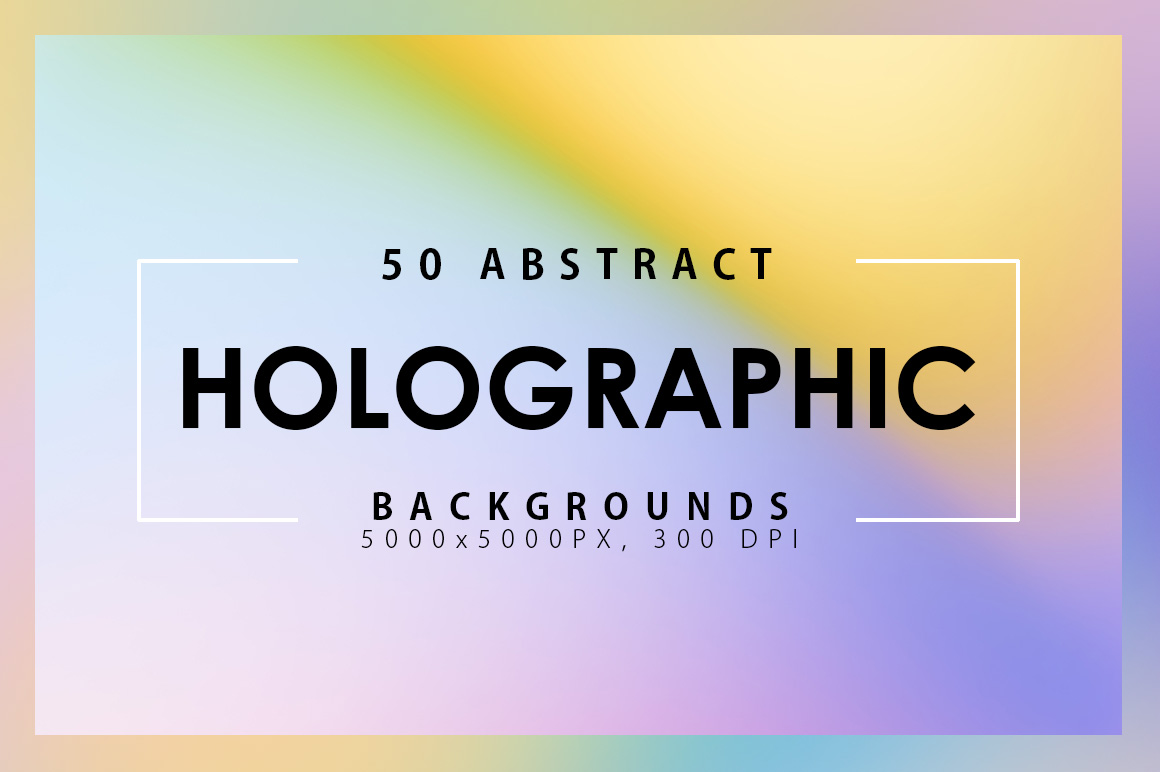 50 Holographic Backgrounds example image 1