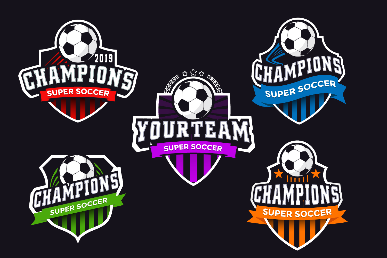 Logo Creator Soccer example image 1