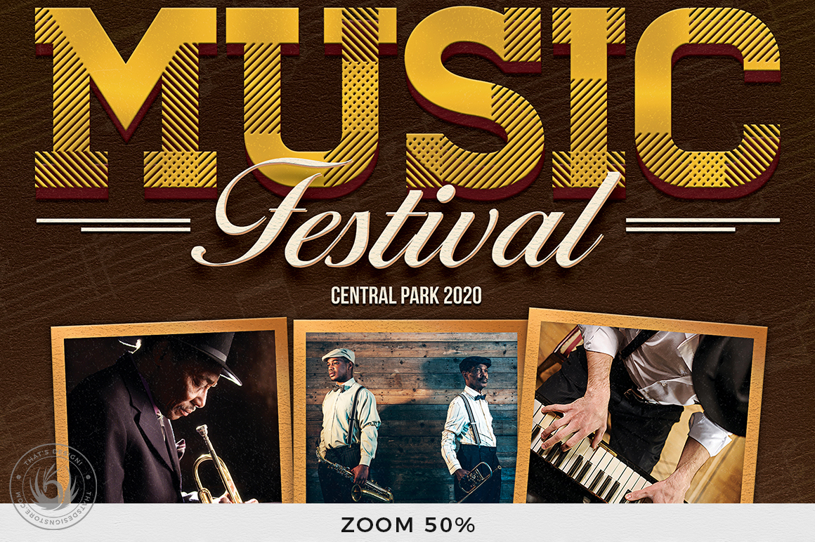 Concert Live Flyer Bundle V5 example image 8