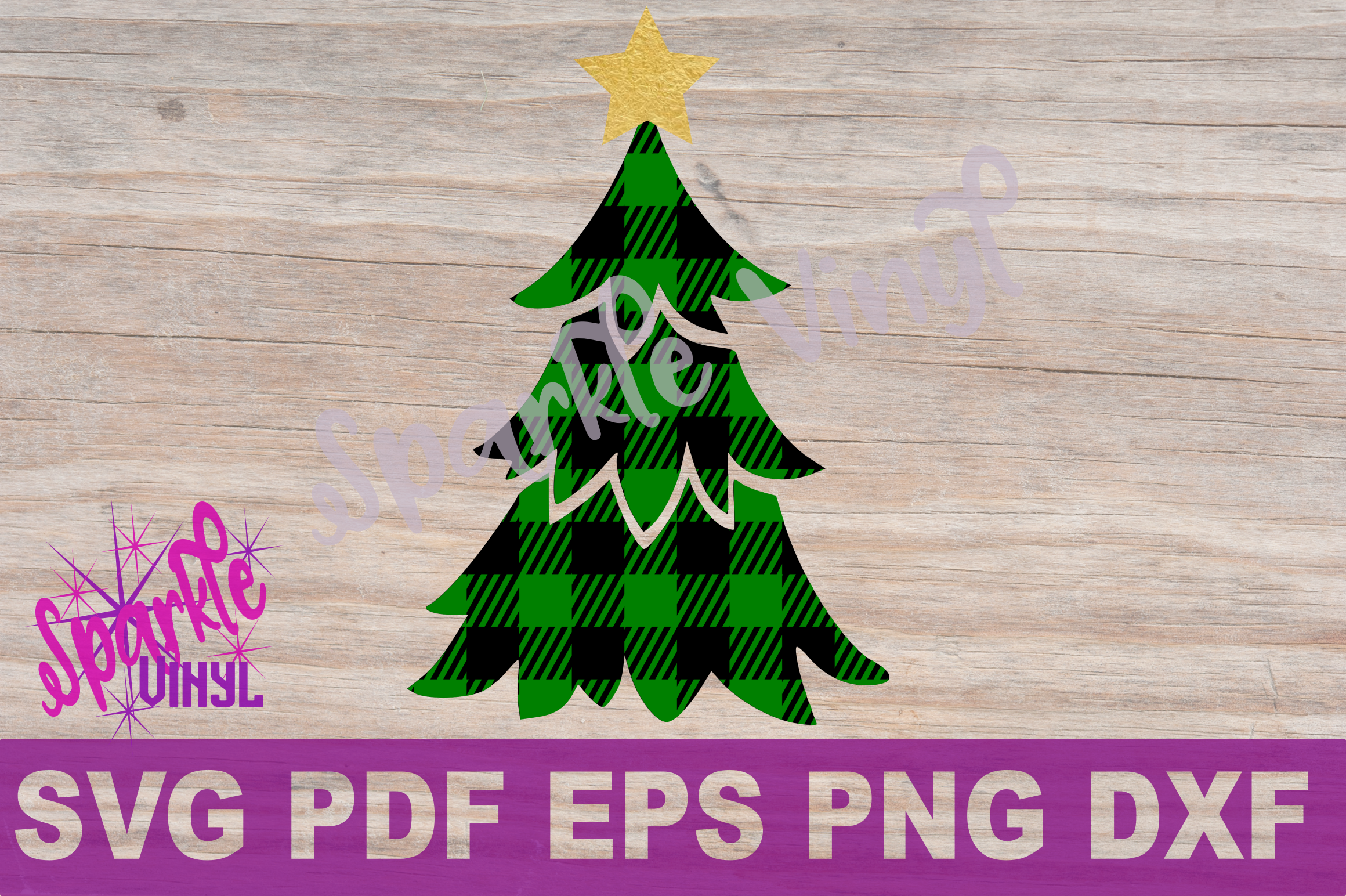 Download Svg Buffalo Plaid Christmas Tree with Star Shirt Sign ...