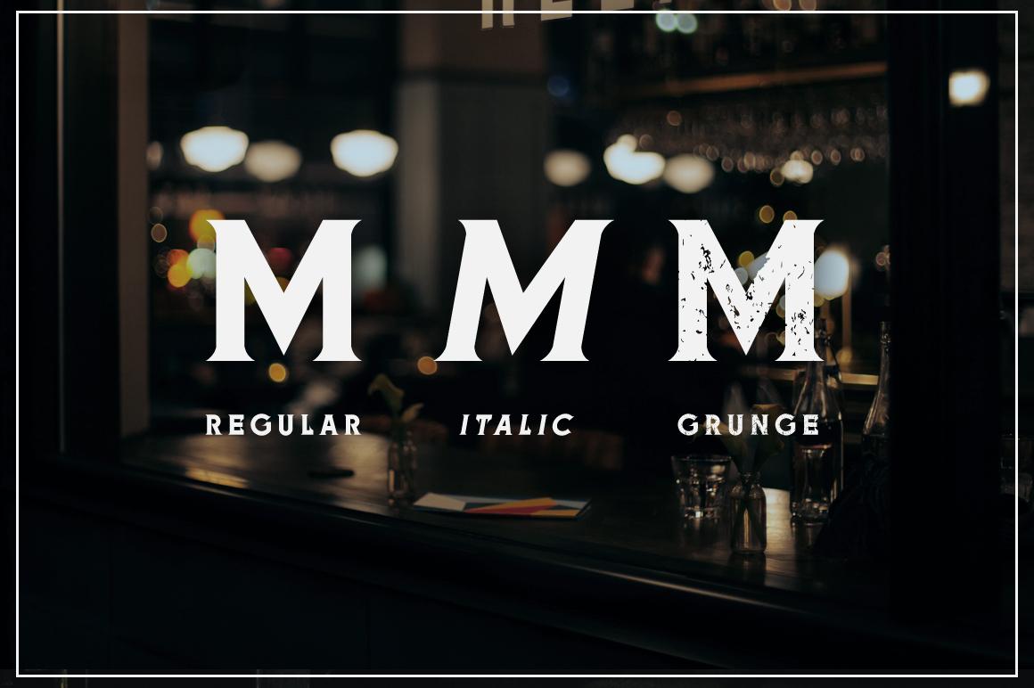 Meringam Typeface example image 3