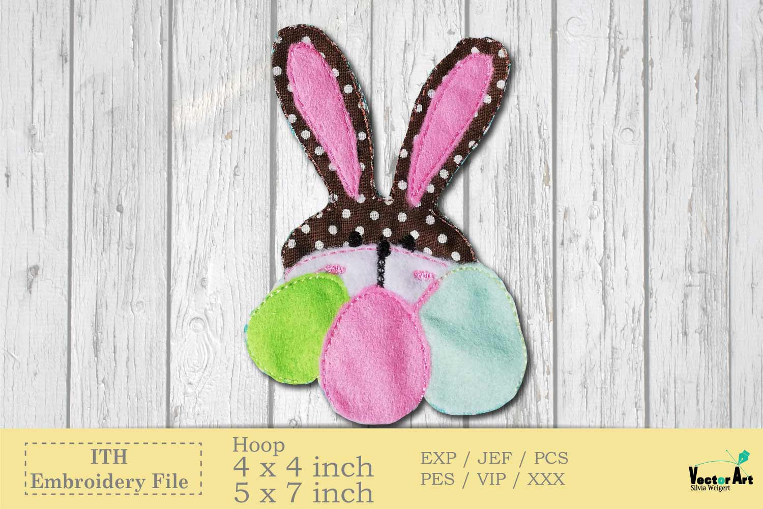 ITH Easter Bundle - Machine Embroidery Files - 10 Projects example image 6