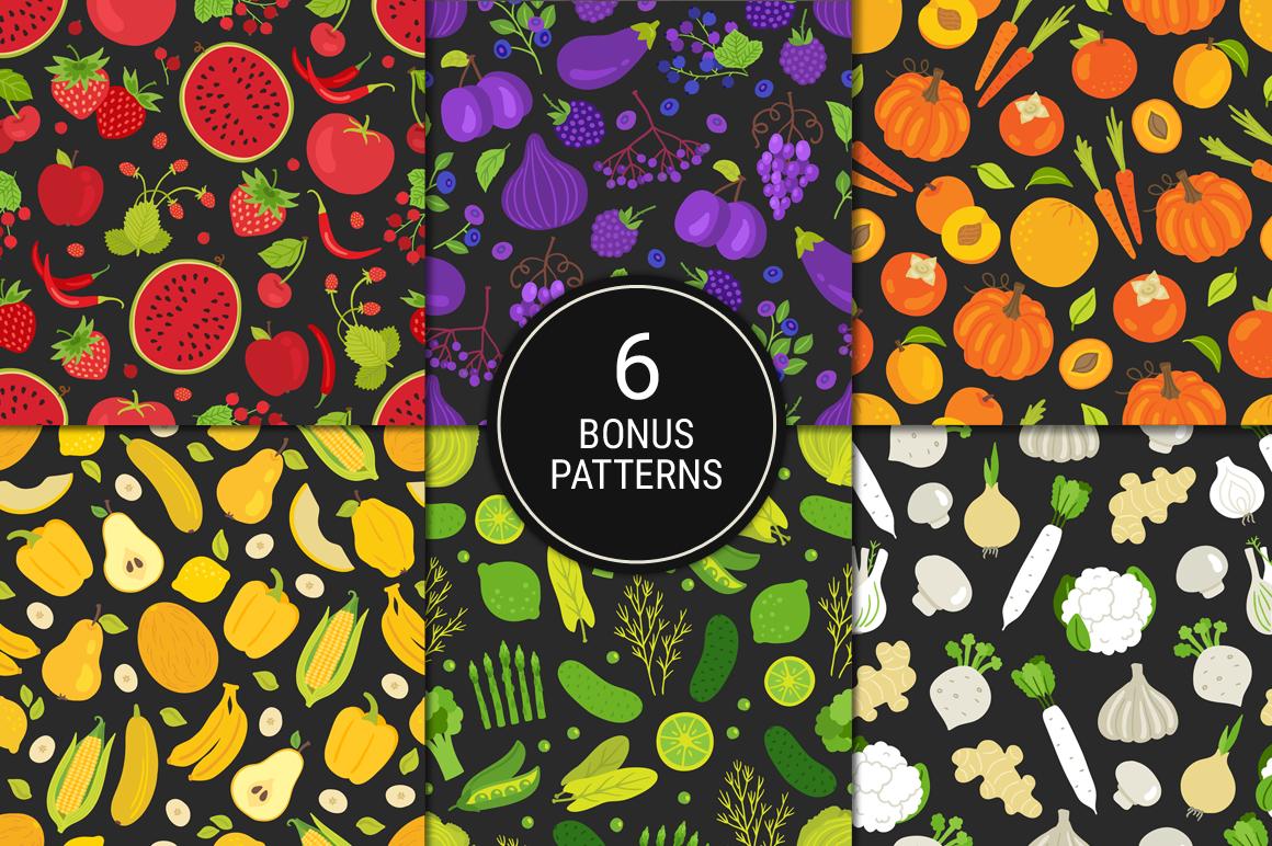 Tasty Rainbow & Bonus Patterns example image 4