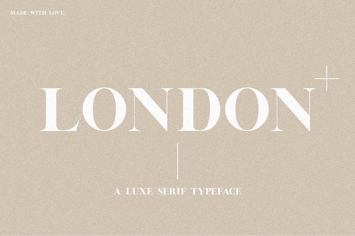 London | A Luxe Serif example image 1