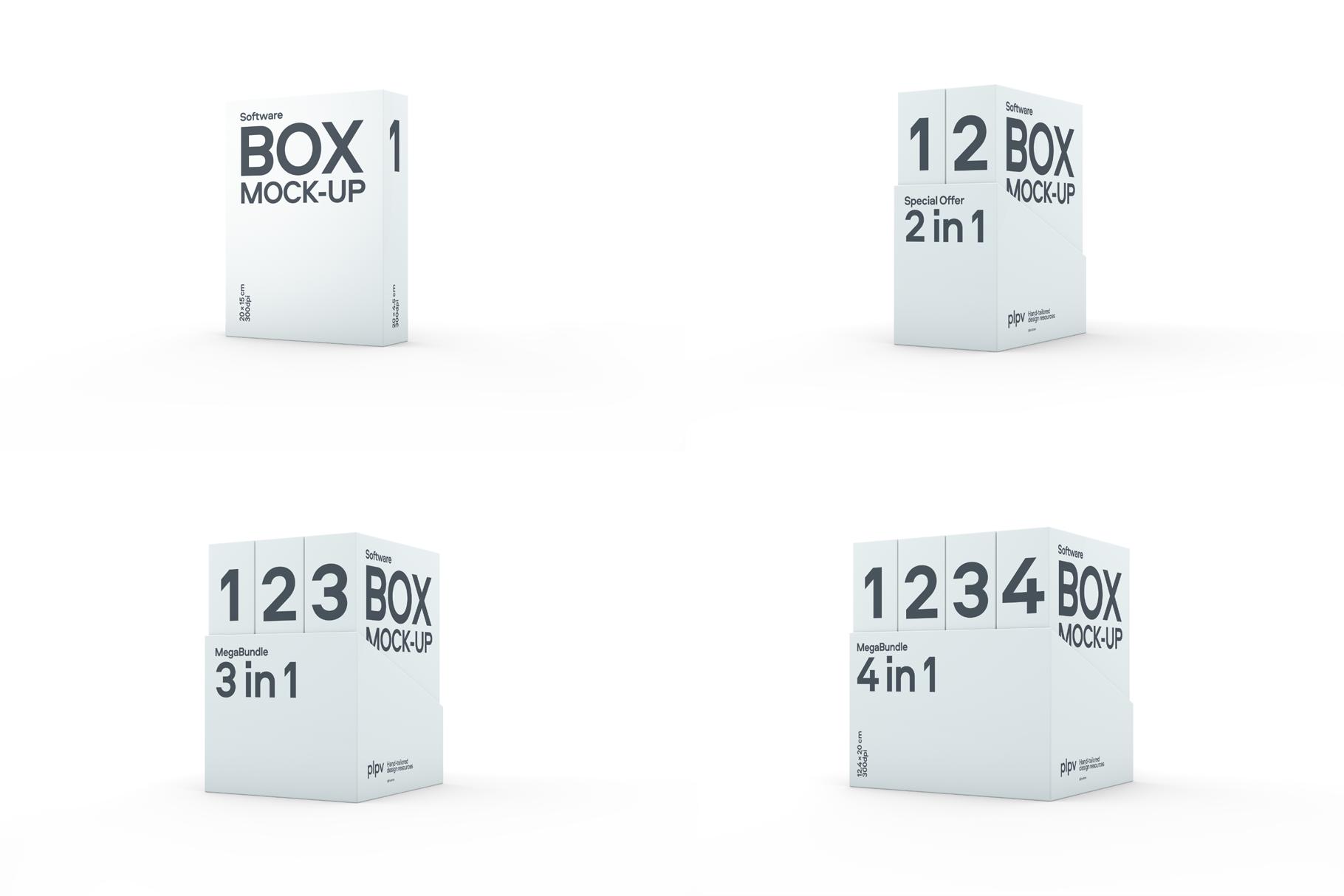 Software Box Mockup example image 6