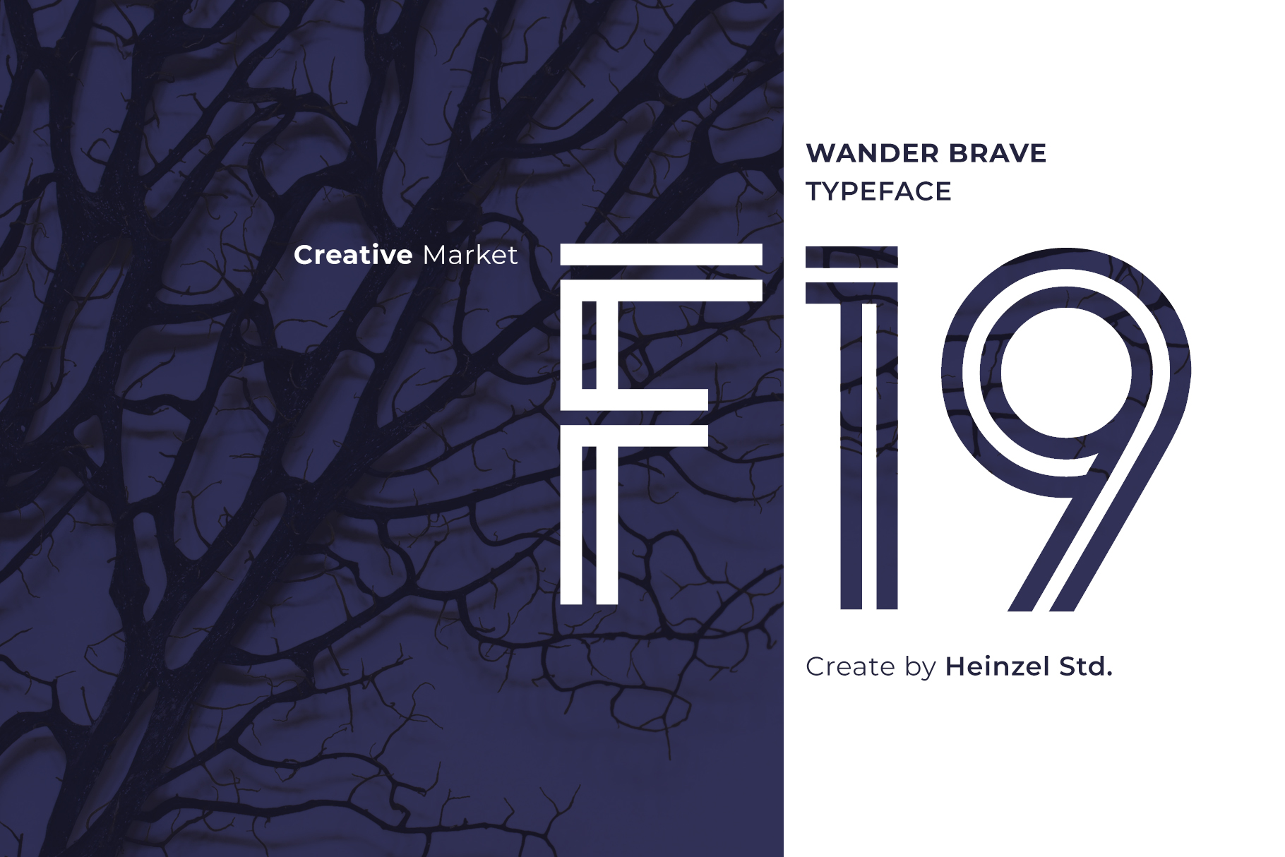 Wander Brave Typeface example image 3