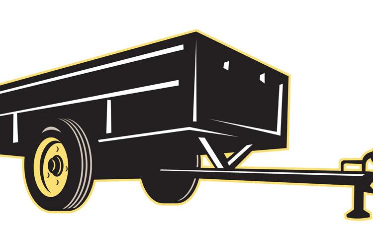 car garden utility trailer side example image 1