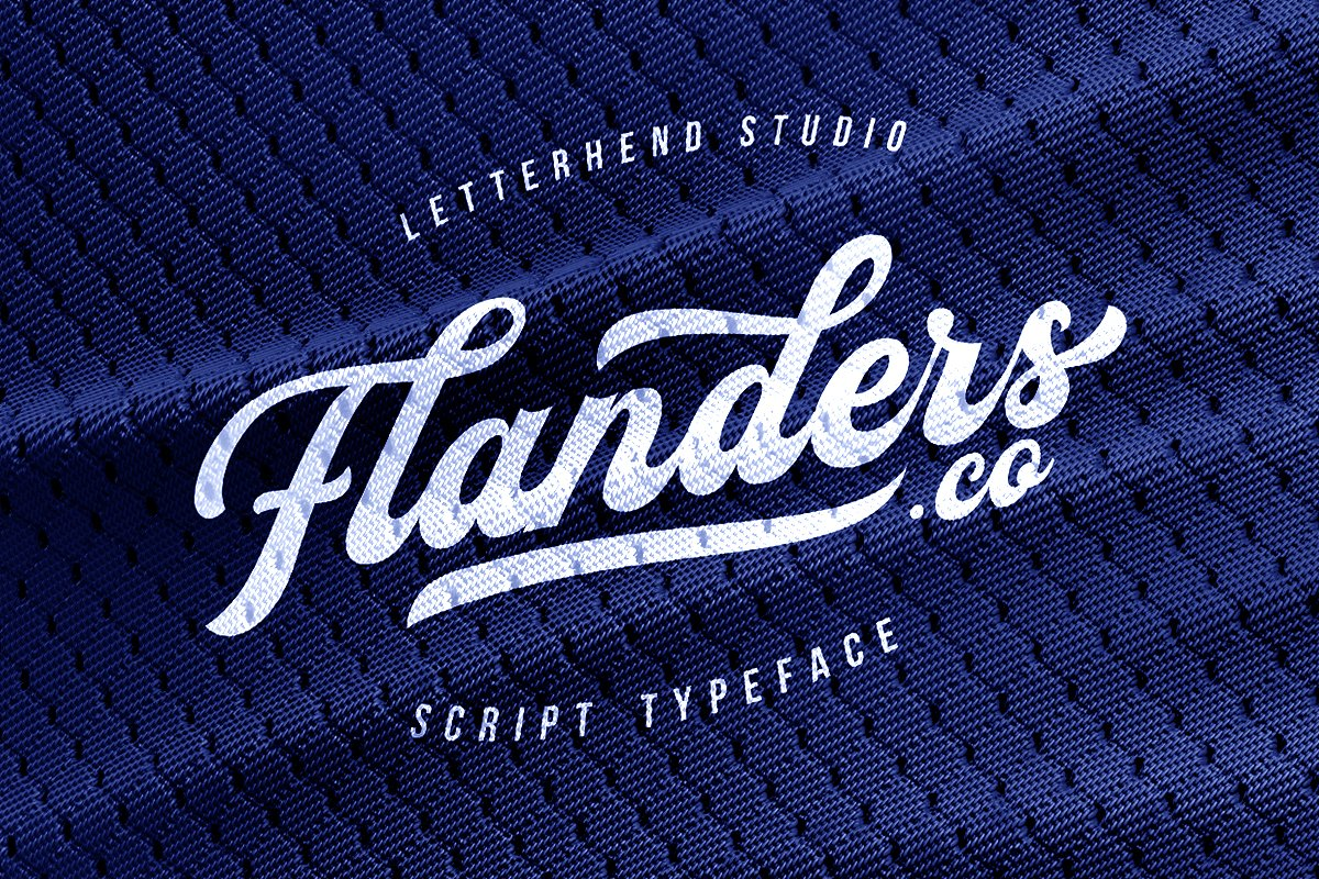 Flanders Script example image 1