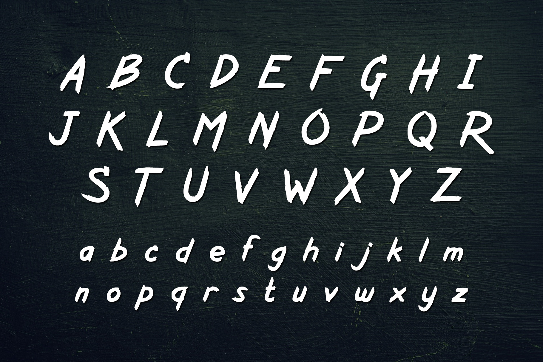 Kurazan Brush Font example image 2