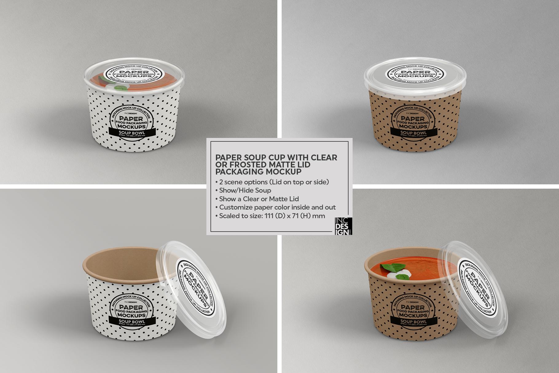 VOL.12 Food Box Packaging MockUps example image 7