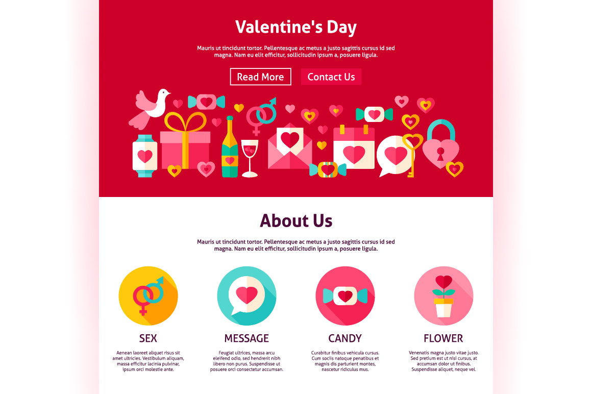 Valentine's Day Web Banners example image 6