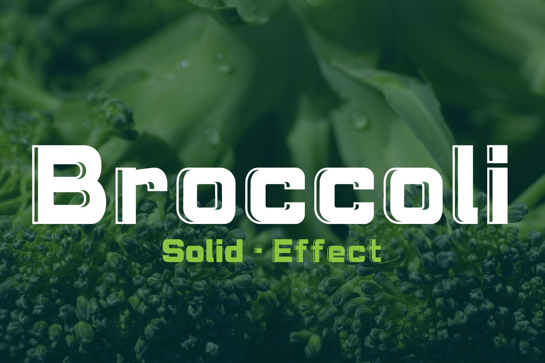 Brocolli example image 2