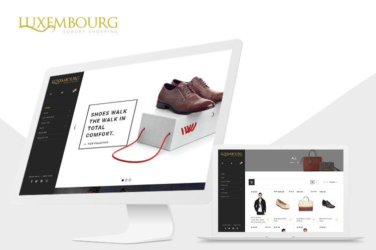 Luxembourg Shopify Theme example image 1