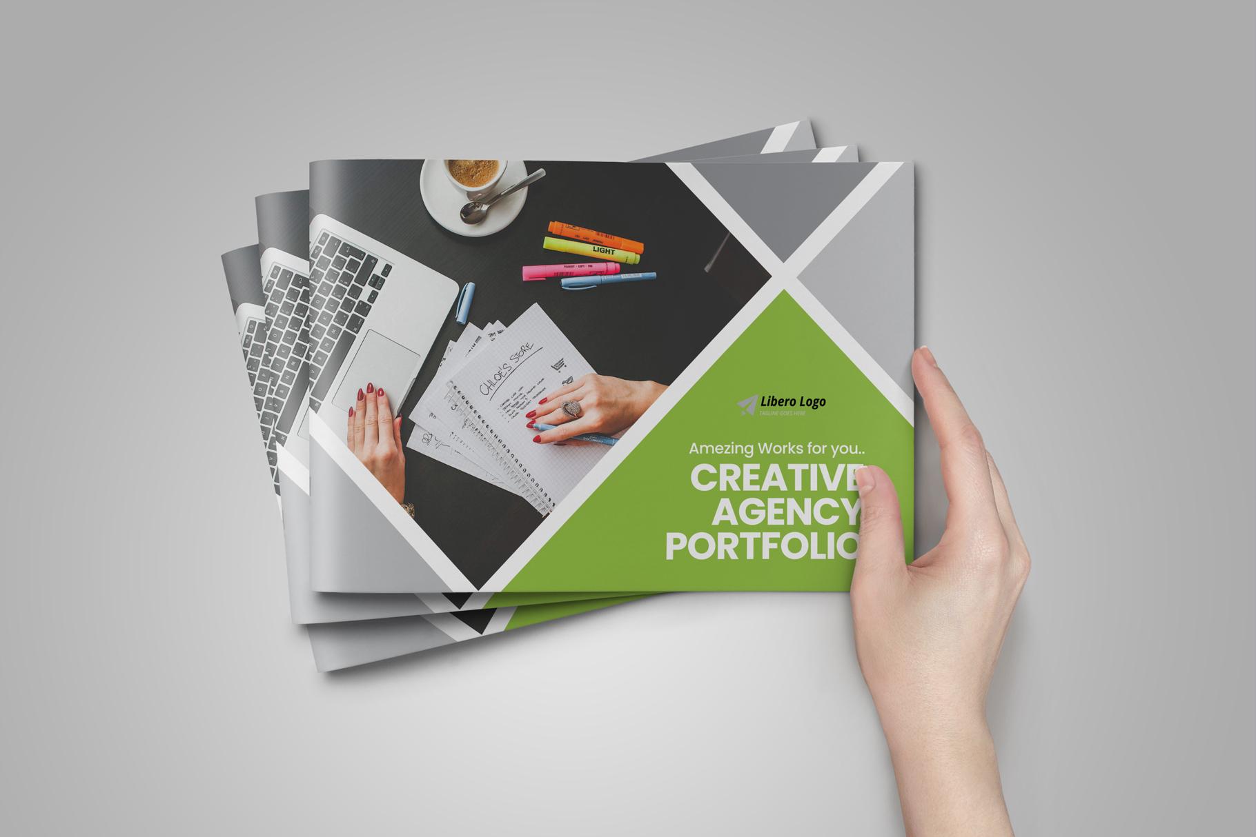 Digital Agency Portfolio Brochure v2 example image 12