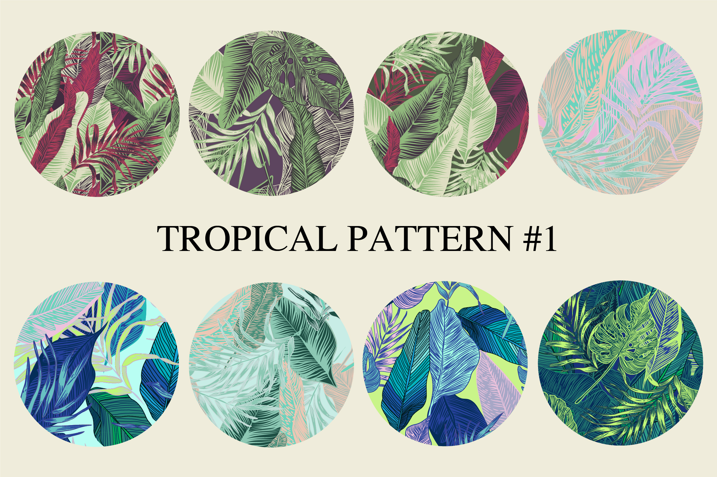 Tropical pattern example image 3