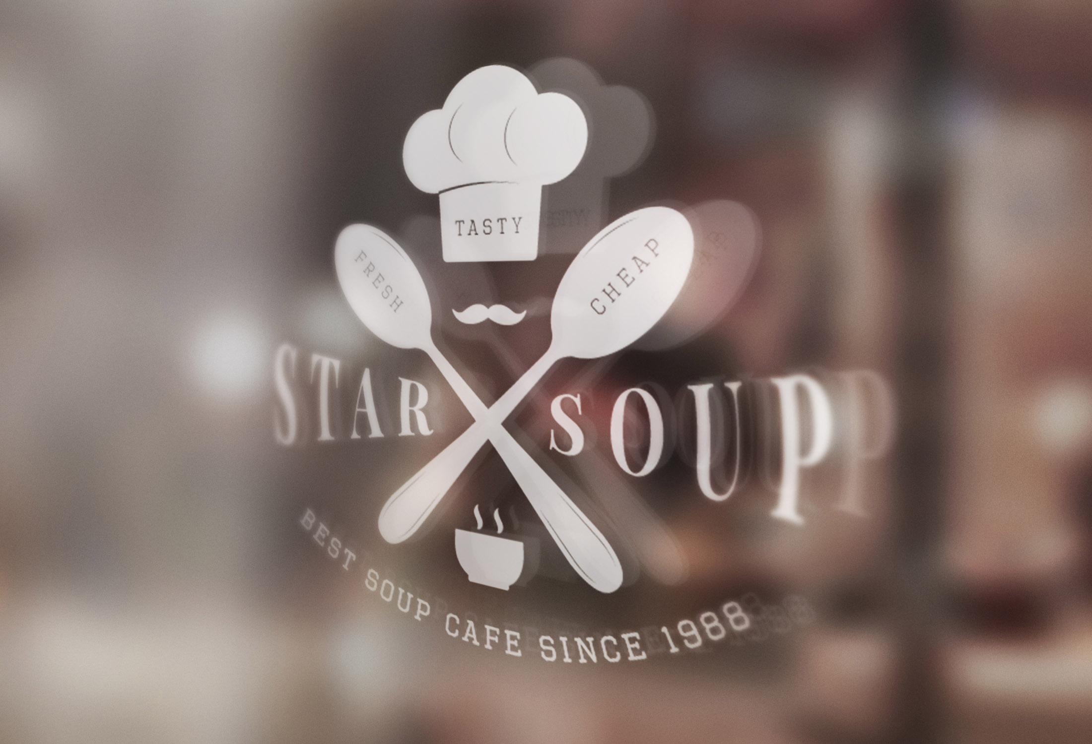Vintage Restaurant Emblems Bundle example image 9