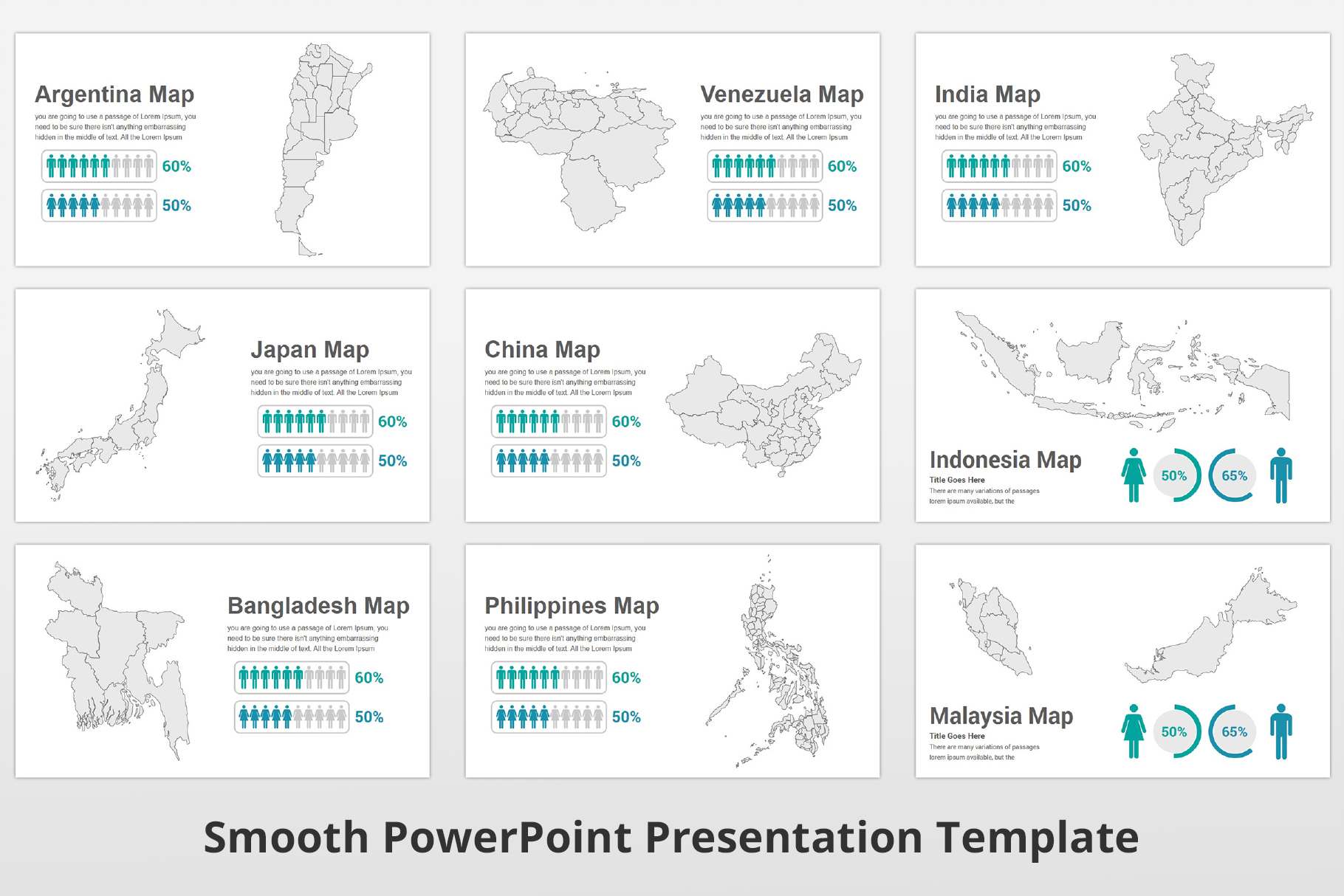 Smooth multipurpose PowerPoint Presentation Template example image 24