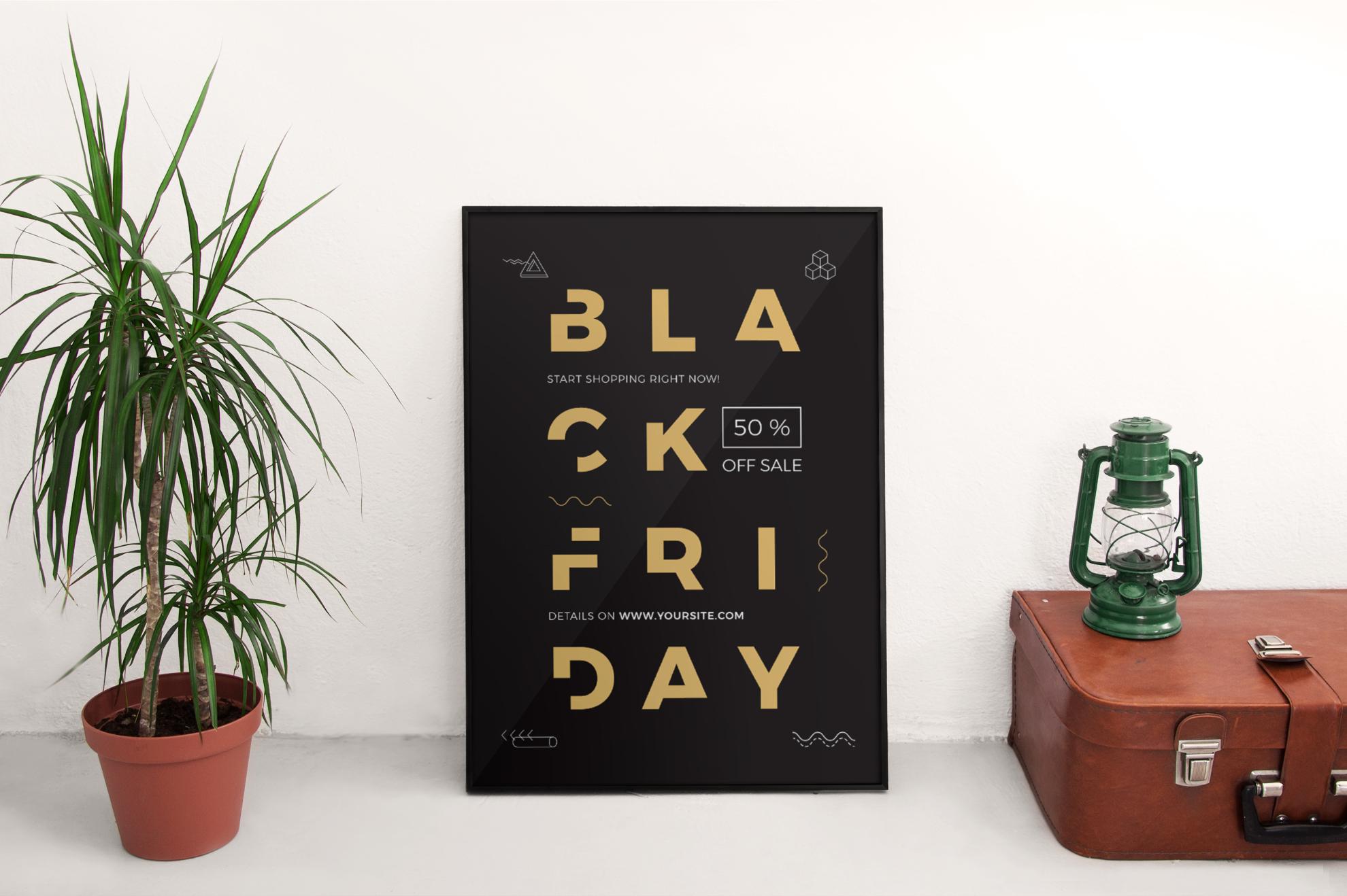 Black Friday Sale Design Templates Bundle example image 4