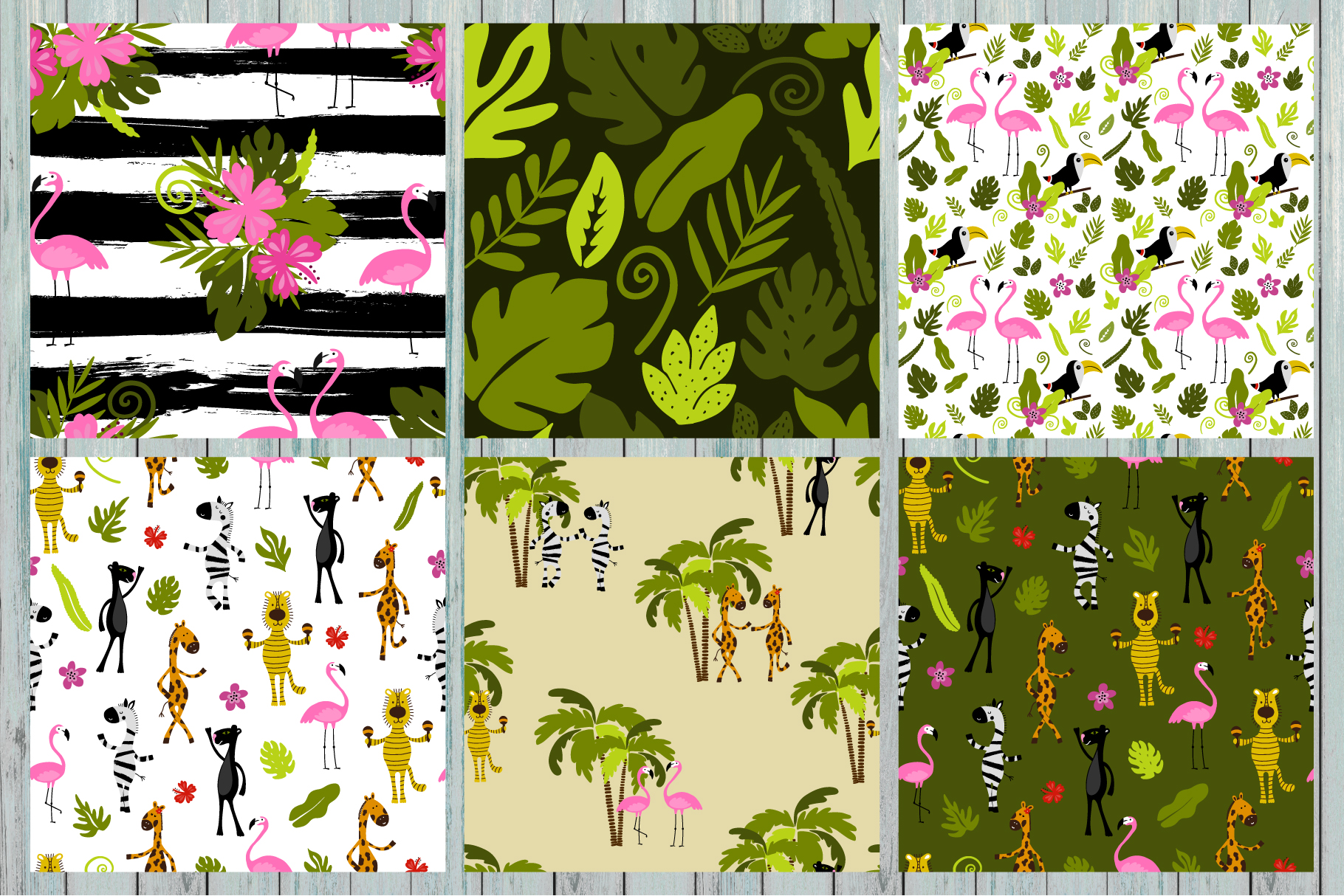 Hello summer! Tropical collection example image 9