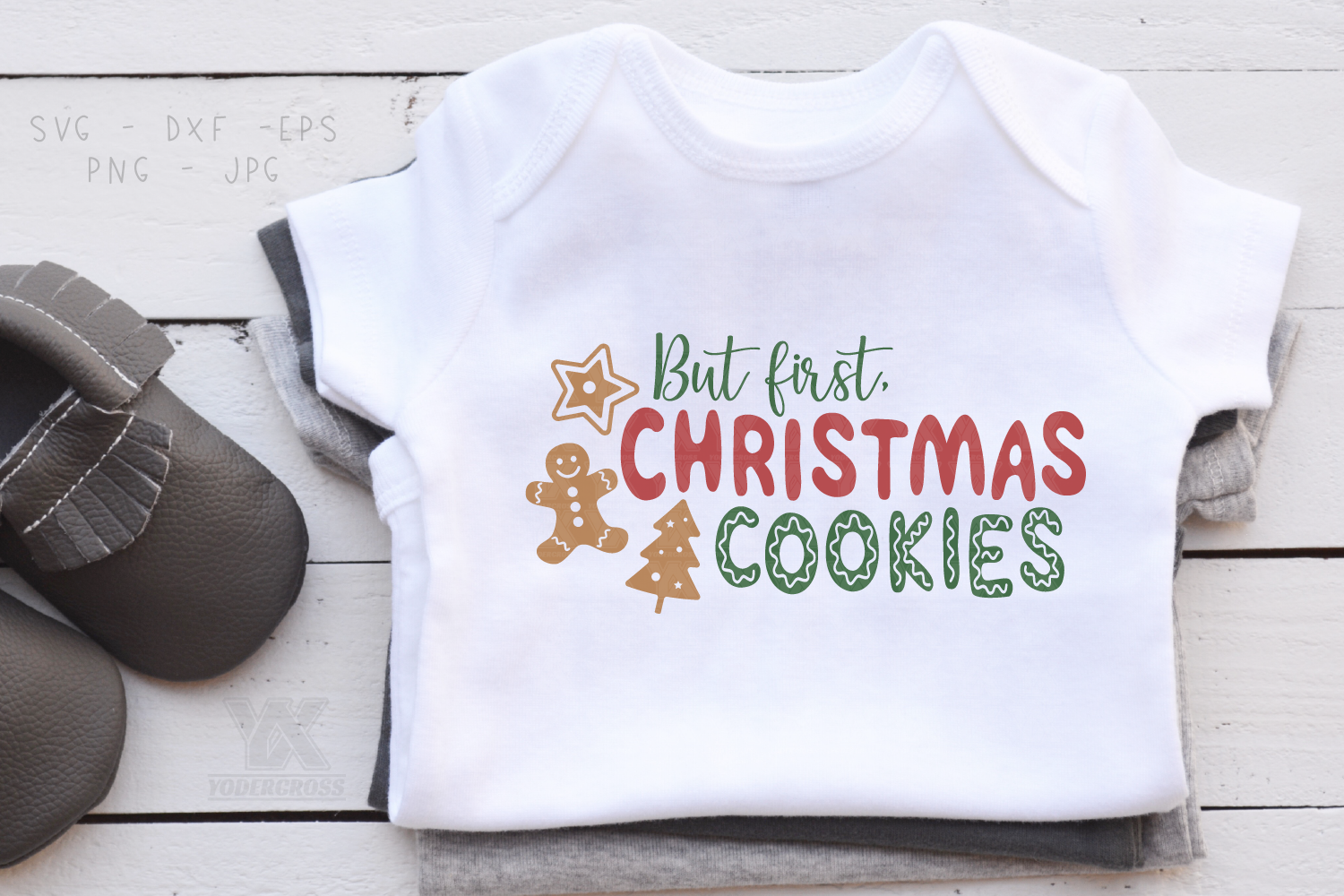 But First, Christmas Cookies SVG example image 2