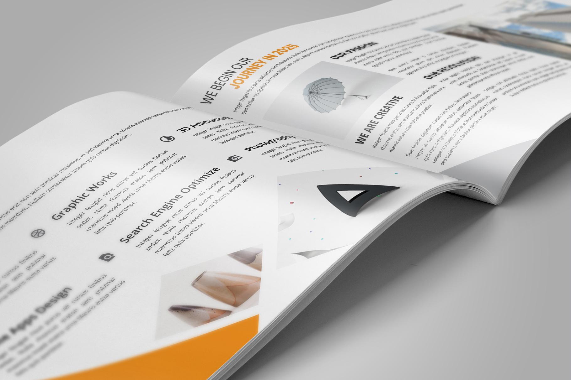 Digital Agency Portfolio Brochure v2 example image 5